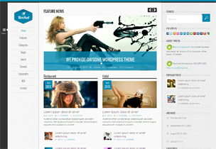 Rocket News – WordPress theme