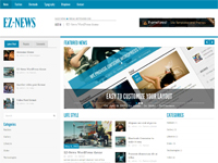 EZ-News Magazine – HTML5 Web Template
