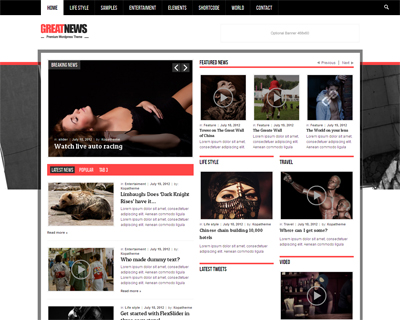 Great News WordPress Theme