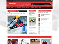 News Mix Responsive HTML5 Magazine Website Template