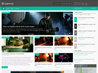 Gammar – HTML5 Magazine Website Template