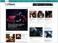 FastNews- Best Magazine Website Template