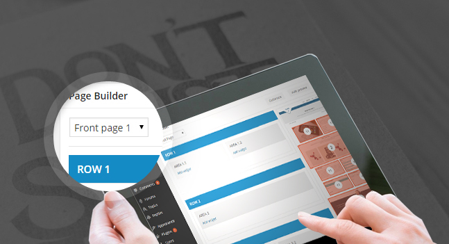 innovato wordpress theme page builder