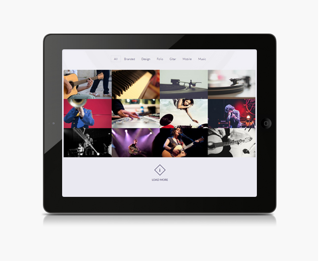 beatmix wordpress theme gallery