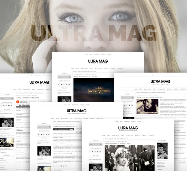 ultramag wordpress theme single style