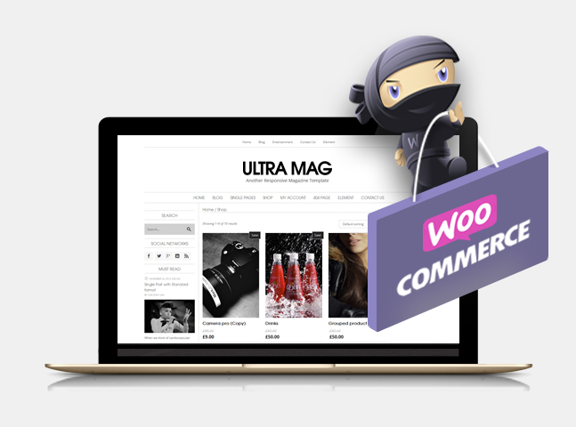 ultramag wordpress theme woocommerce