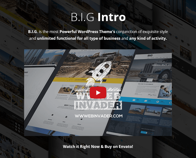 multipurpose b.i.g wordpress theme